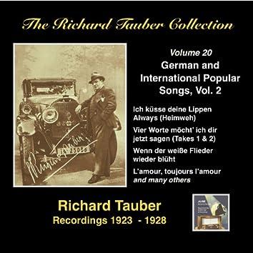 The Richard Tauber Collection: German & International Popular Songs, Vol 2 (Recordings 1923 - 1938)