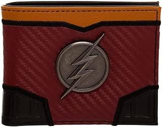 Flash Metal Badge Boxed Bi-Fold Wallet
