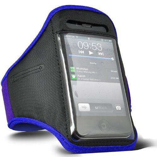 Digi Pig Brazalete deportivo para iPod, color azul