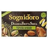 Sogni Doro Tisana Delizie&Frutta Secca Pistacchio e Mandorla con Scorza di Limone 16 Fl - 40 Gr