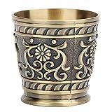 Copas de Vino de Cobre Puro Vintage, Taza de Vino de Vaso, artesanías Antiguas para decoración de Regalos para el hogar