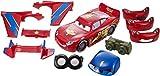 Cars - CKJ98 - Véhicule Miniature - Modèle Simple - Mcqueen Transformable