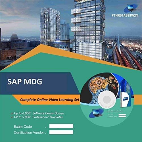 SAP MDG Complete Video Learning Solution Set (DVD)