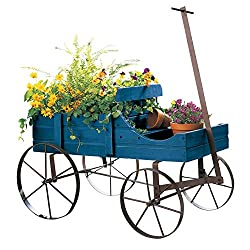 Decorative Wooden Wagons: