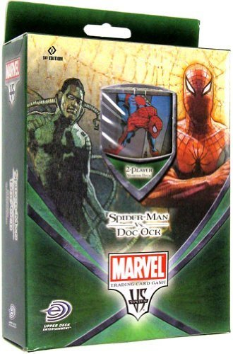 Marvel VS System Trading Card Game: Spider-Man vs. Doc Ock 2-Player Starter Deck by Legends, L.p.