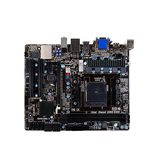 SYFANG Fit for BIOSTAR A88S3E Placa Base FM2 + AMD A88X Micro ATX Placa Base de computadora de Escritorio para AMD Compatible con Placa Base de computadora DDR3
