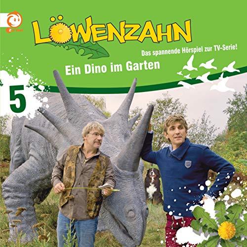 Ein Dino im Garten. Das spannende Hörspiel zur TV-Serie Titelbild