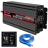 Novopal-Power Inverter Onda Sinusoidale Pura 2000W 4000W Trasformatore di Potenza Converti...