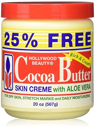 Hollywood Beauty Crème pour la peau au beurre de cacao enrichi à l'aloe vera 591 ml