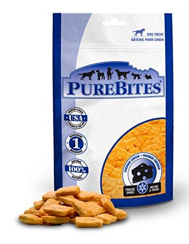 Purebites Queso Cheddar para Perros, 4.20Z / 120 g, tamaño Mediano