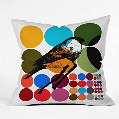 DENY Designs Randi Antonsen Poster Heroine 3 Throw Pillow, 16 by 16 Inch
