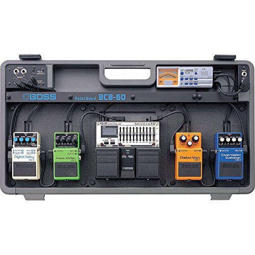 Boss BCB-60 Lightweight Pedal Board with 1 Year Free Extended Warranty
