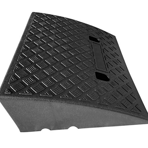 ishine Kerb Ramps Lightweight Mobility Threshold Ramps For Wheelchairs, Cars Vehicles, Caravan, Scooter Wheels, Skateboard, Motorcycle