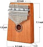 Immagine 1 lukytimo kalimba 17 tasti strumento