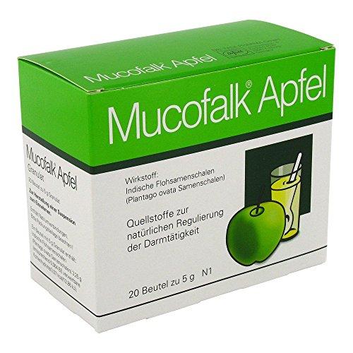 Mucofalk Apfel Granulatbeutel, 20 St.