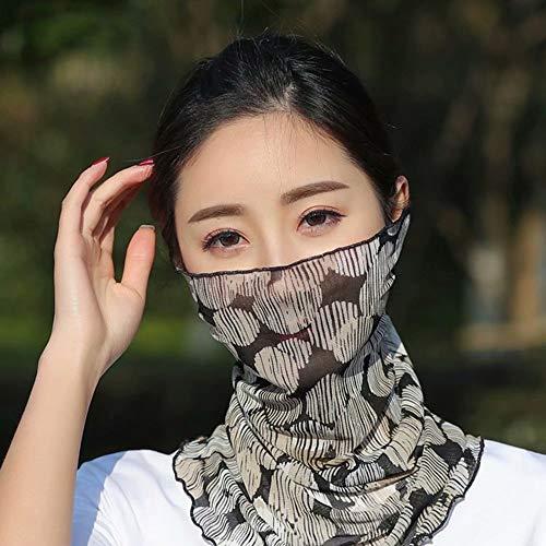 Hoofddeksels Elastische hoofdband UV-sport Zweetabsorberende magische tulband Fiets stofdicht Hoes Weerstand Headwrap Bandana Sjaal Tube