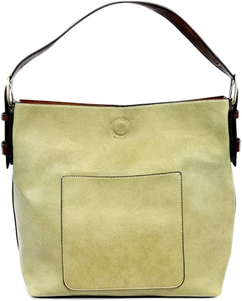 Joy New products, world's highest quality popular! Susan Womens Faux online shop Handbag 2-in-1 Leather: Hobo