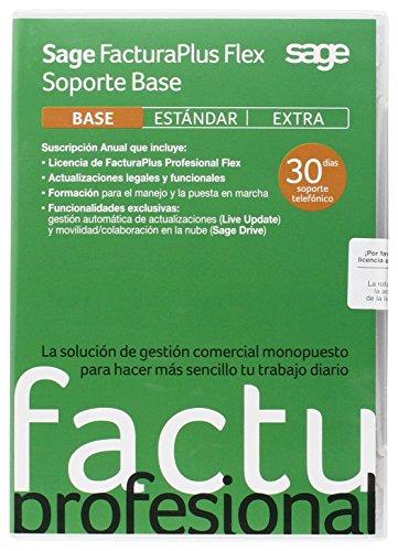 Sage FacturaPlus Profesional Flex Soporte Base 2015 - Softwa