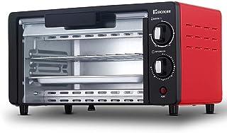 L.TSA Cocina 10L Hogar Horneado automático Tarta de Huevo Pastel de Pizza Multifunción Mini Horno Ajuste de Temperatura 0-230 ℃ y 60 Minutos de Tiempo 800W