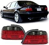 Carparts-Online 26328 Klarglas LED Rückleuchten rot schwarz