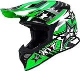 KYT Skyhawk Ardor Casco motocross Verde XL (61/62)