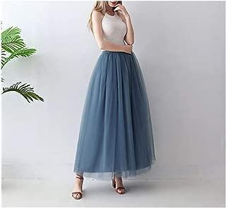 5 Layers Skirts Womens Princess Tulle Skirt Puffy Fashion Skirt