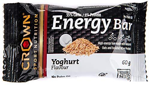 Crown Sport Nutrition Energy Bars - Radfahren Laufen Sport Workout - langlebige Kohlenhydrate langsam und schnell - 10 Einheiten