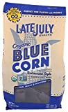 Thin, crispy, delicious blue corn tortilla chips that melt in your mouth The perfect party chips made with high quality corn for authentic restaurant taste Certified USDA Organic & Non-GMO Project Verified Vegan, Kosher, Gluten-Free, Made in a Facili...