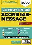 Le tout-en-un Score IAE-MESSAGE - Fil d'actu offert - 2020