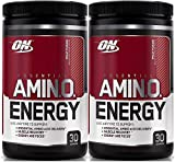 Optimum Nutrition Essential Amino Energy, Pack of Two 30 Servings (Fruit Fusion 2 x 30 Servings)