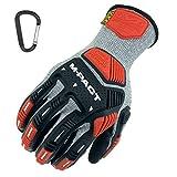 Mechanix CR5 M-Pact Knit - Guantes de trabajo resistentes con protección contra...