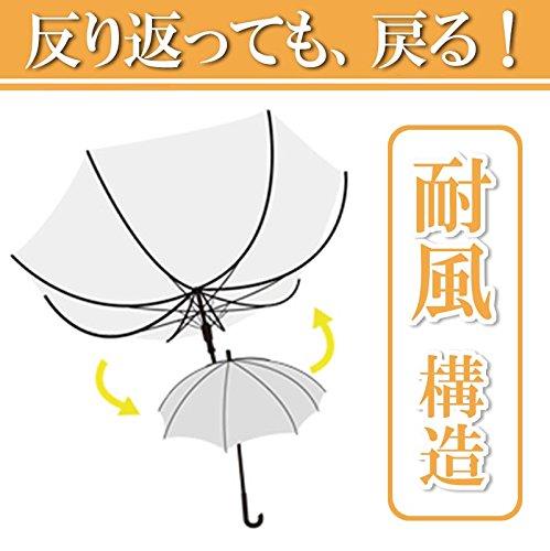 『弘懋 TANPOPO 65cmグラスファイバービニール傘滑り止め(ジャンプ)黒 60317』の3枚目の画像