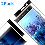 Vkaiy Verre Trempé pour Sony Xperia XA2, Couverture Complète Film Protection en...