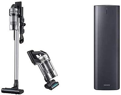 Samsung Jet Stick Jet 75 Complete Cordless Stick Lightweight Vacuum(Silver) with Jet Stick Station(Silver)