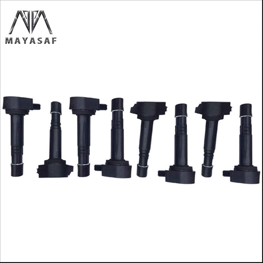 MAYASAF UF242 Ignition Coils Pack 2021 autumn and winter new of 8 M EL Outlet ☆ Free Shipping TL RL Acura CL for