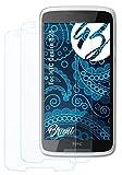 Bruni Schutzfolie kompatibel mit HTC Desire 828 Folie, glasklare Bildschirmschutzfolie (2X)