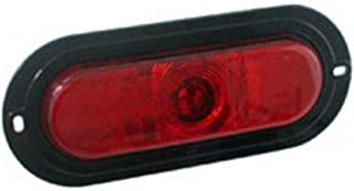 Truck-lite 81161 1-led Super-66 Oval Stop/turn/tail Lamp W/flange, Red
