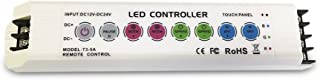 DEMASLED - DC 12-24V RF-RGB Touch Remote Controller & RF - DC 5V 30mA RGB Touch Remote Control (1 Pair)