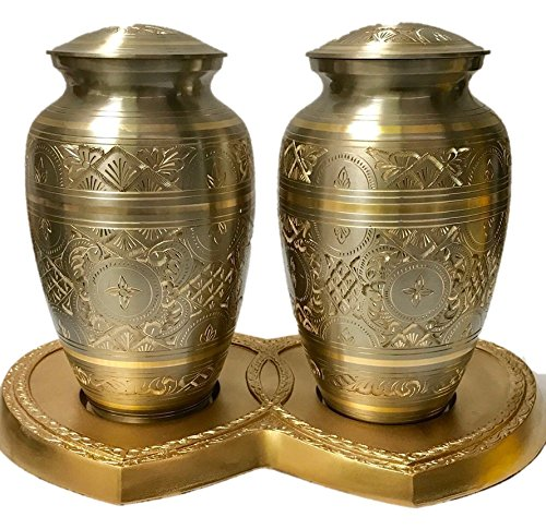 NWA Gold Cremation Companion Urn