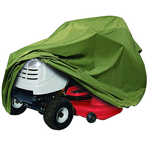 """Classic Accessories Lawn Tractor Cover, Olive, Up to 54"""" Decks"""