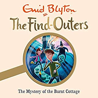 The Mystery of the Burnt Cottage cover art