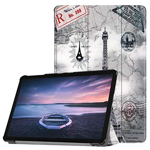 Slabo Tablet Hülle Hülle für Samsung Galaxy Tab A 10.5 SM-T590 | T595 (2018) Schutzhülle Auto Sleep Wake Funktion & Magnetverschluss - Paris