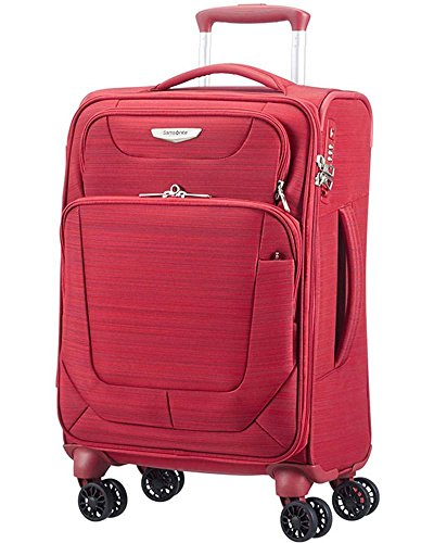 Trolley Cabina Samsonite | 4 Ruote 55 | Linea Spark | 38V004-New Red