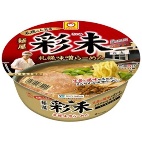 マルちゃん 麺屋 彩未 札幌味噌らーめん 125g×12個