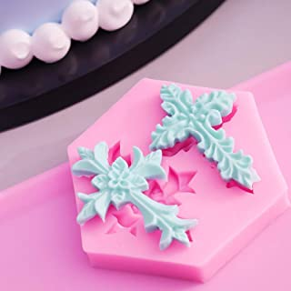 Home, Furniture & DIY Italian Cross silicone mold fondant cake decorating food soap cupcake topper FDA Baking Decorations