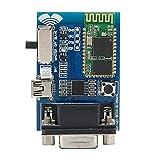 Módulo de puerto serie, módulo de puerto serie BC ‑ 04 Mini USB inalámbrico de 5 V RS232 Comunicación de puerto serie para transmisión de datos W/DOS/L