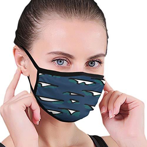 Wiederverwendbares Techno Lii Waves Stoff-Gesichts-Bandana, Unisex, waschbar, atmungsaktiv, Outdoor, Mundschutz, Schutz für Erwachsene und Kinder