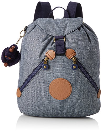 Kipling Bustling School Backpack, 32 cm, 13 liters, Blue (Craft Navy C)