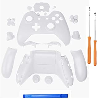 YICHUMY Replacement Controller Housing Shell Full Set Faceplates Buttons for Microsoft Xbox One Controller with 3.5 mm Hea...
