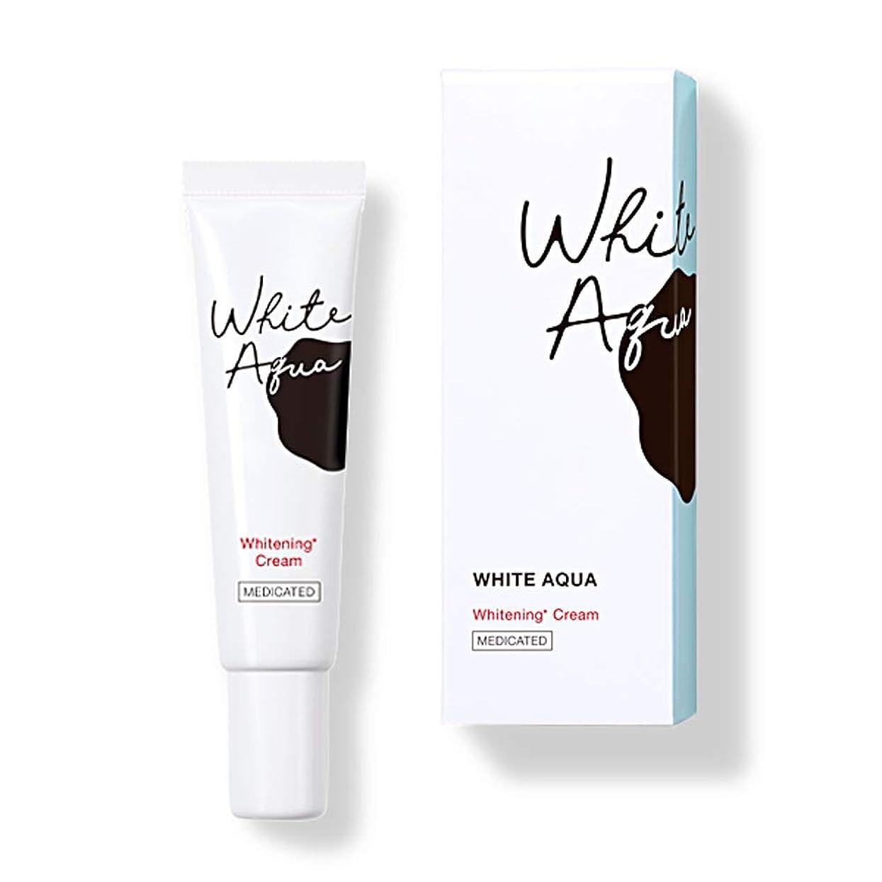 何よりも以内にイブホワイトアクア WHITE AQUA 薬用スポッツ美白クリーム